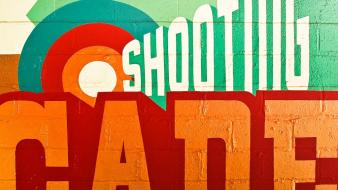 Vintage signs retro typography arcade wallpaper