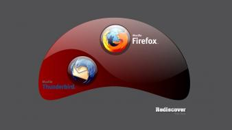 Wall firefox browsers web browser thunderbird wallpaper