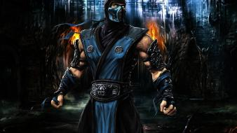 3d mortal kombat subzero video games wallpaper