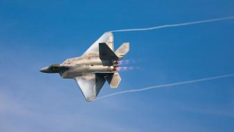 Aircraft military f-22 raptor wallpaper