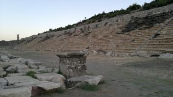 Ancient greek mythology kibyra golhisar burdur theater wallpaper