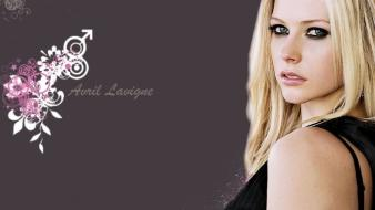 Blondes avril lavigne faces wallpaper