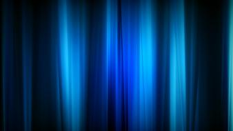 Blue Curtain wallpaper