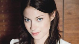 Brunettes celebrity laura ramsey wallpaper