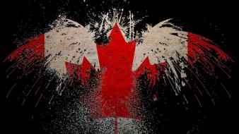 Canada canadian flag wallpaper