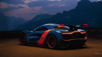 Cars concept alpine (cars) renault racing a110-50 wallpaper