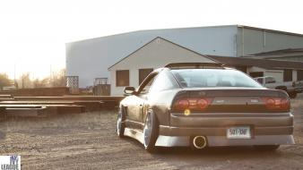 Cars nissan 180sx silver jdm taillights Wallpaper