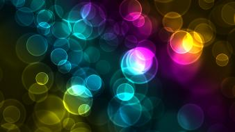 Colorful Bokeh wallpaper