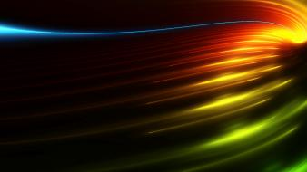Dark Colorful Abstract Screen wallpaper