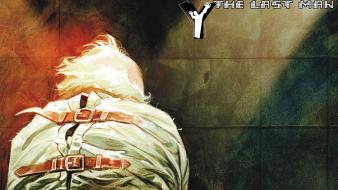 Dystopia comics science fiction y: the last man wallpaper