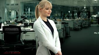 Emma Stone As Gwen Stacy wallpaper