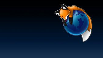 Firefox browsers foxes wallpaper