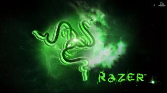 Green black razer mice wallpaper