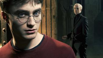 Harry Potter And Draco Malfoy Hd wallpaper