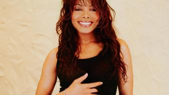 Janet jackson smile Wallpaper
