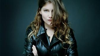 Laetitia casta black wallpaper