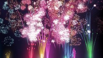 New Year Fireworks wallpaper