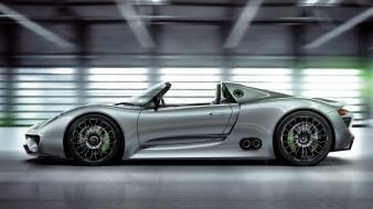 Porsche cars hybrid 918 spyder wallpaper