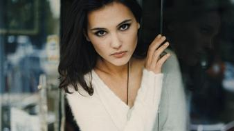Virginie Ledoyen White Sweater wallpaper