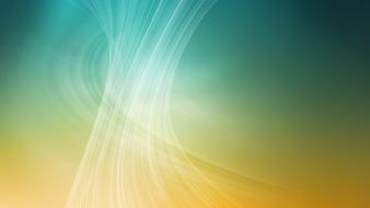 Yellow Wave Abstract wallpaper