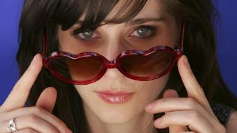 Zooey Deschanel Glasses wallpaper