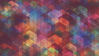 Abstract multicolor patterns simon c. page wallpaper