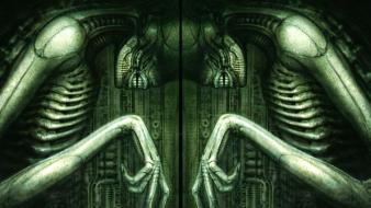 Alien h.r. giger hr xenomorph artwork wallpaper