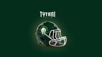 American football poland logos lublin tapeta tytani wallpaper