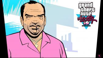 Auto rockstar games vice city anniversary gta wallpaper