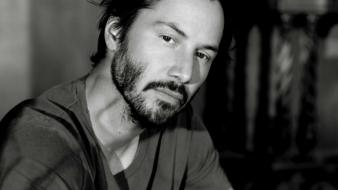 Black and white men keanu reeves actors wallpaper