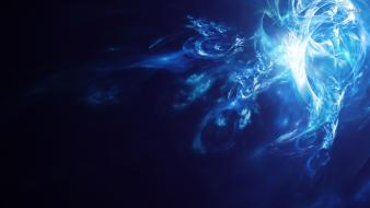 Blue smoke s wallpaper