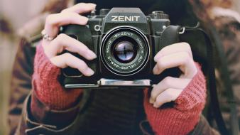 Camera zenit zenith 1920 1080 film photographer wallpaper