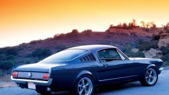 Cars ford mustang fastback gt Wallpaper