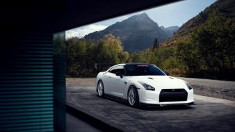 Cars nissan vehicles skyline r35 gt-r gtr wallpaper