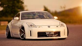 Cars tuning races nissan fairlady z33 350z wallpaper