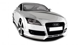 Cars vehicles vector wallpaper