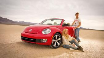 Cars volkswagen beetle cabriolet wallpaper