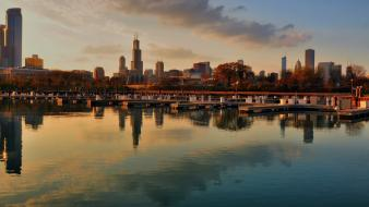 Chicago cityscapes skyline wallpaper