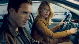 Claire danes damian lewis homeland vogue magazine cover Wallpaper