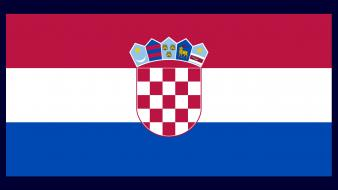 Croatia hrvatska flags nations wallpaper