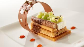 Desserts food art wallpaper