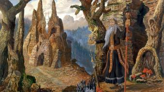 Fantasy art artwork mythology vsevolod ivanov wallpaper