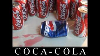 Funny coca-cola pepsi demotivational motivational posters soda wallpaper