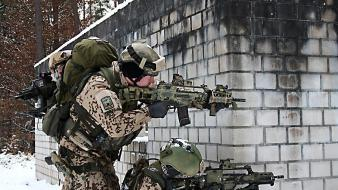 G36 g36c german armed forces army wallpaper