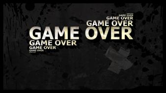 Game over dark demotivational quotes sayings wallpaper