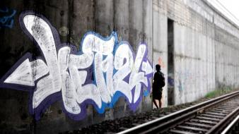 Graffiti street art ket124 wallpaper