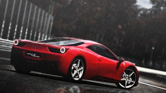 Gran turismo 5 playstation 3 458 italia wallpaper