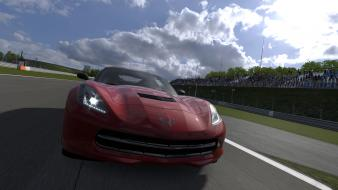 Gran turismo 5 ps3 chevrolet corvette c7 wallpaper