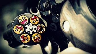 Guns ammunition smiley face awesome wallpaper
