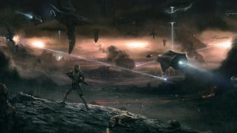 Halo concept art science fiction 4 Wallpaper